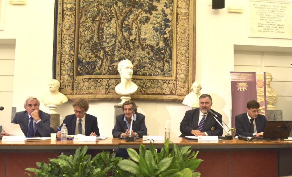 Conferenza stampa, tavolo relatori - FOTO PUCCI