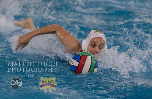 ROMA VIS NOVA- GUINNESS CATANIA    CAMPIONATO FEMMINILE SERIE A2 PALLANUOTO FIN